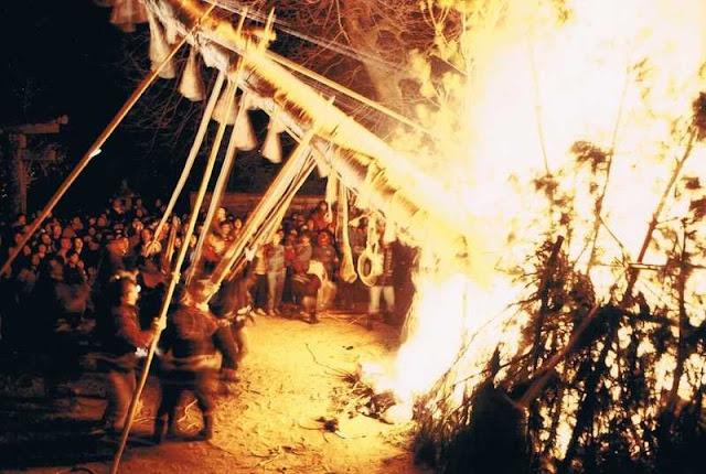 Onja-Onja! (Devil Festival) at Karatsu Tenmangu Shrine, Saga Pref.