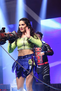 Sunny Leone Dancing on stage At Rogue Movie Audio Music Launch ~  327.JPG