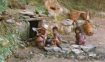 Nepali Poor People