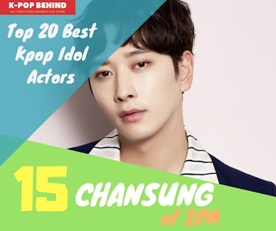 Chansung of 2PM