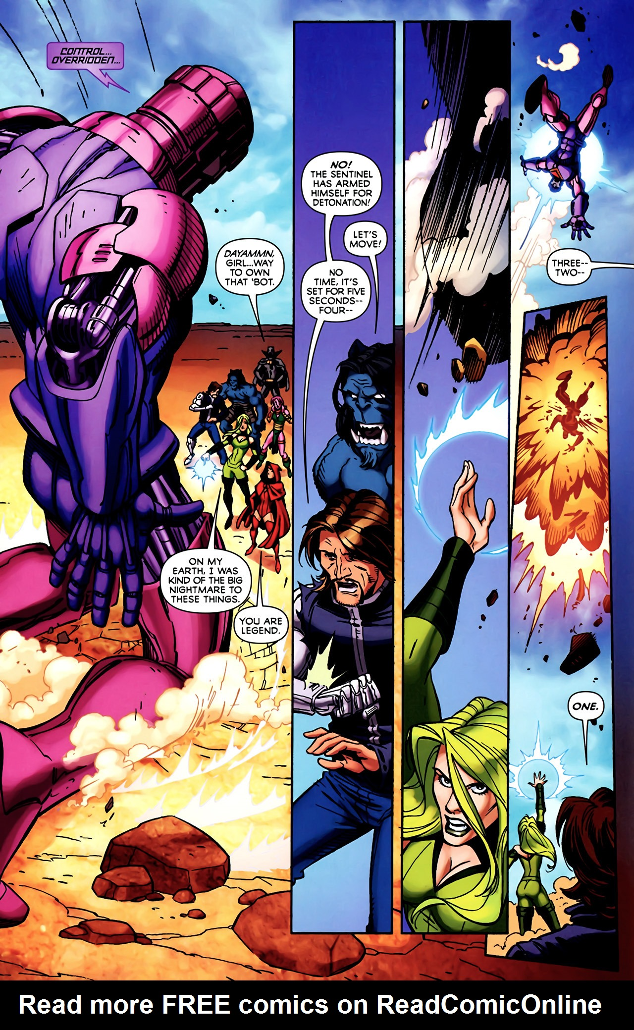 Read online Exiles (2009) comic -  Issue #4 - 9