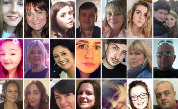 Here's the full list of the 22 victims of Monday's terror attack in Manchester