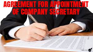 Agreement-Appointment-Company-Secretary