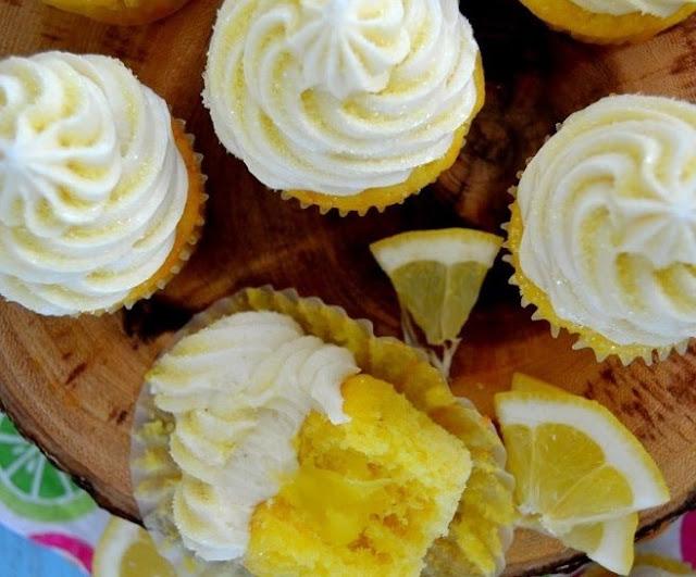 Lemon Bars Cupcake