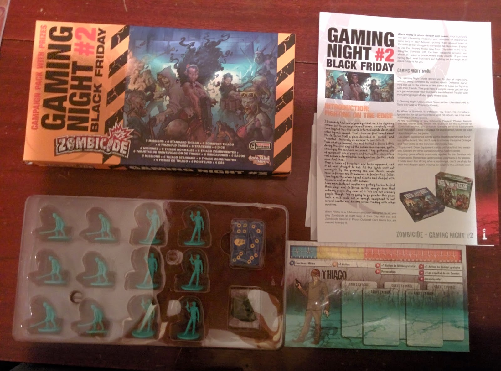 zombicide game night kit