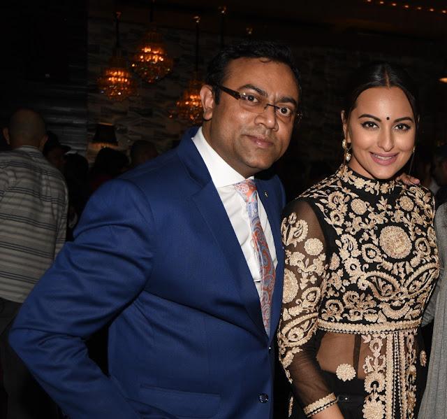 Vinay Singh and Sonakshi Sinha