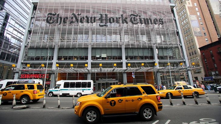 New York Times lyon classement