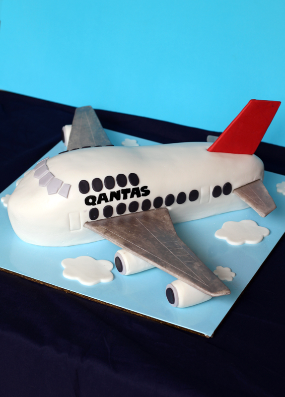 butter hearts sugar Airplane Cake