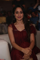 Pragya Jaiswal in Stunnign Deep neck Designer Maroon Dress at Nakshatram music launch ~ CelebesNext Celebrities Galleries 110.JPG