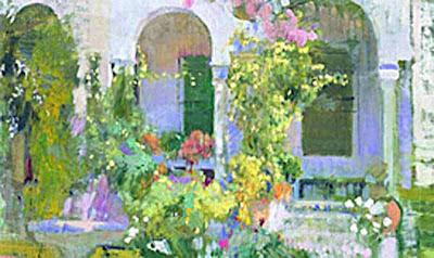 Estudio de Jardín, Joaquín Sorolla
