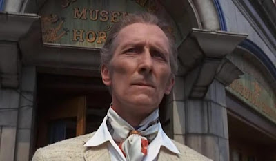 Peter Cushing en The House That Dripped Blood-La Mansión de los Crímenes