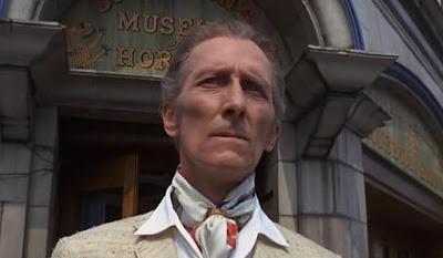 Peter Cushing en The House That Dripped Blood-La Mansión de los Crímenes