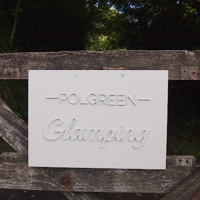 Glamping at Polgreen Cornwall