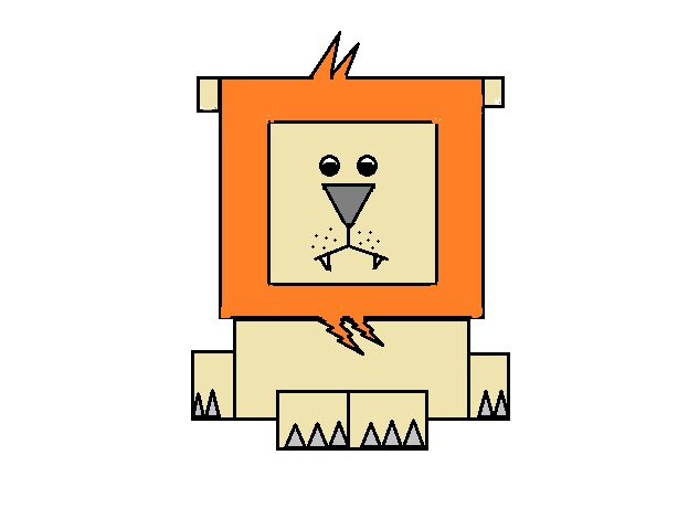Ignite Dreams How To Draw A Lion In Ms Paint Using Shapes