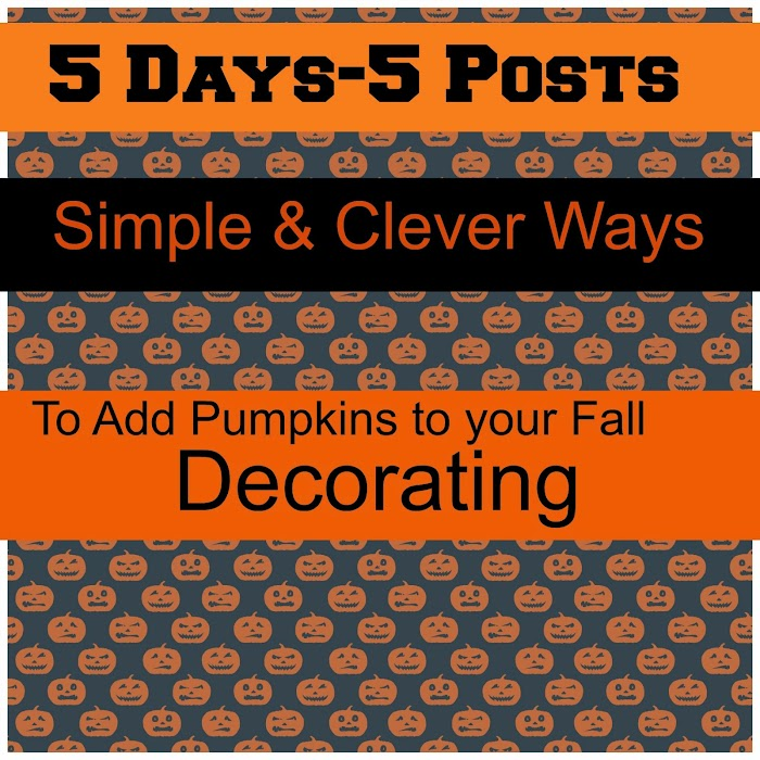 Simple Ways to Decorate With Pumpkins