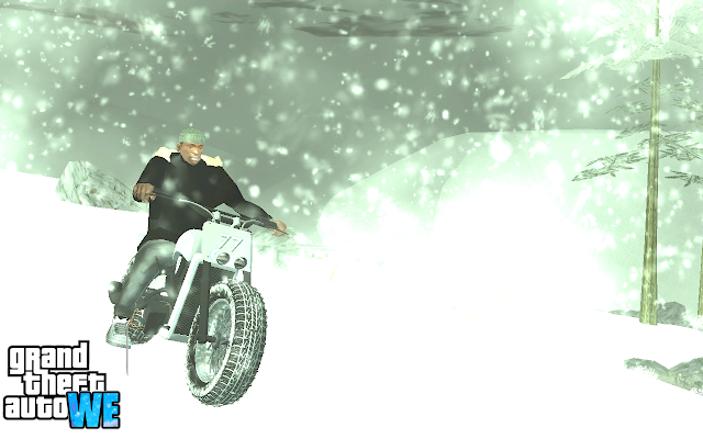 Snow in GTA San Andreas Android (Mobile) screenshots
