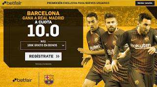 betfair supercuota Barcelona gana a Real Madrid Super Copa España 16 agosto