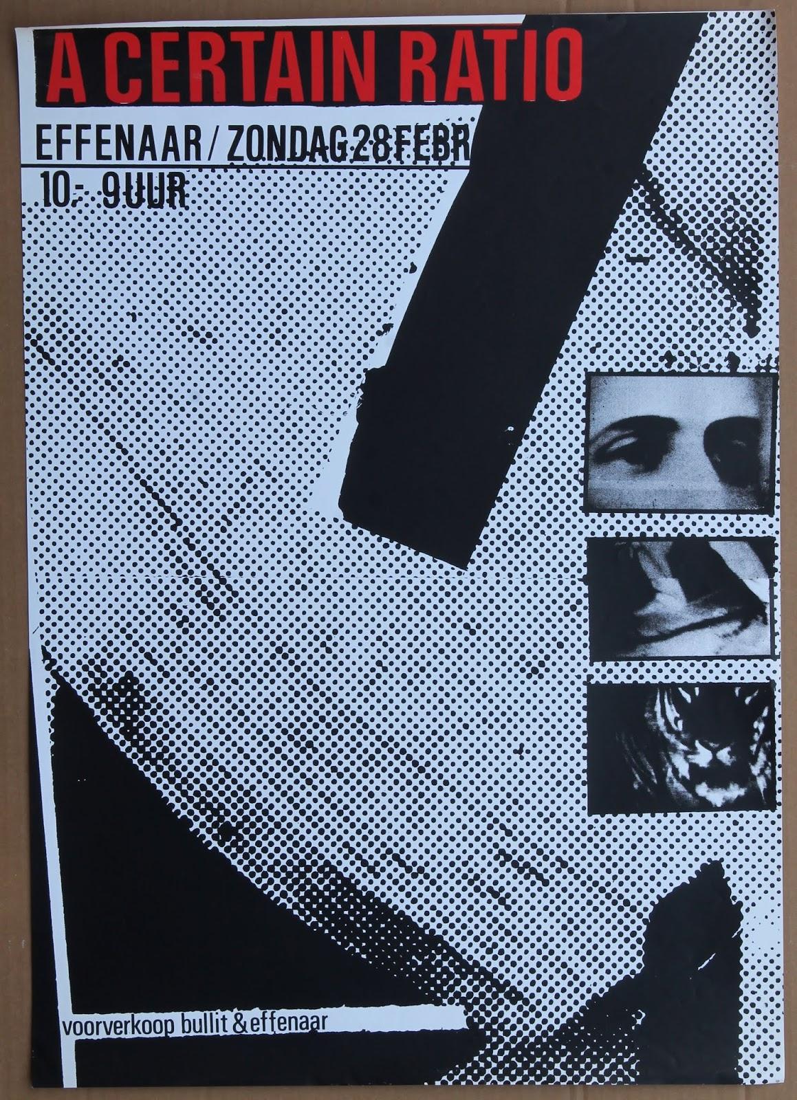 28 Feb 1982, Effenaar, Eindhoven, Netherlands - ACR Gigography
