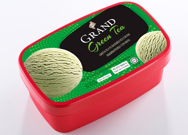 King's Grand Green Tea Ice Cream