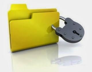 صورة برنامج Folder Lock لغلق الملفات برقم سري