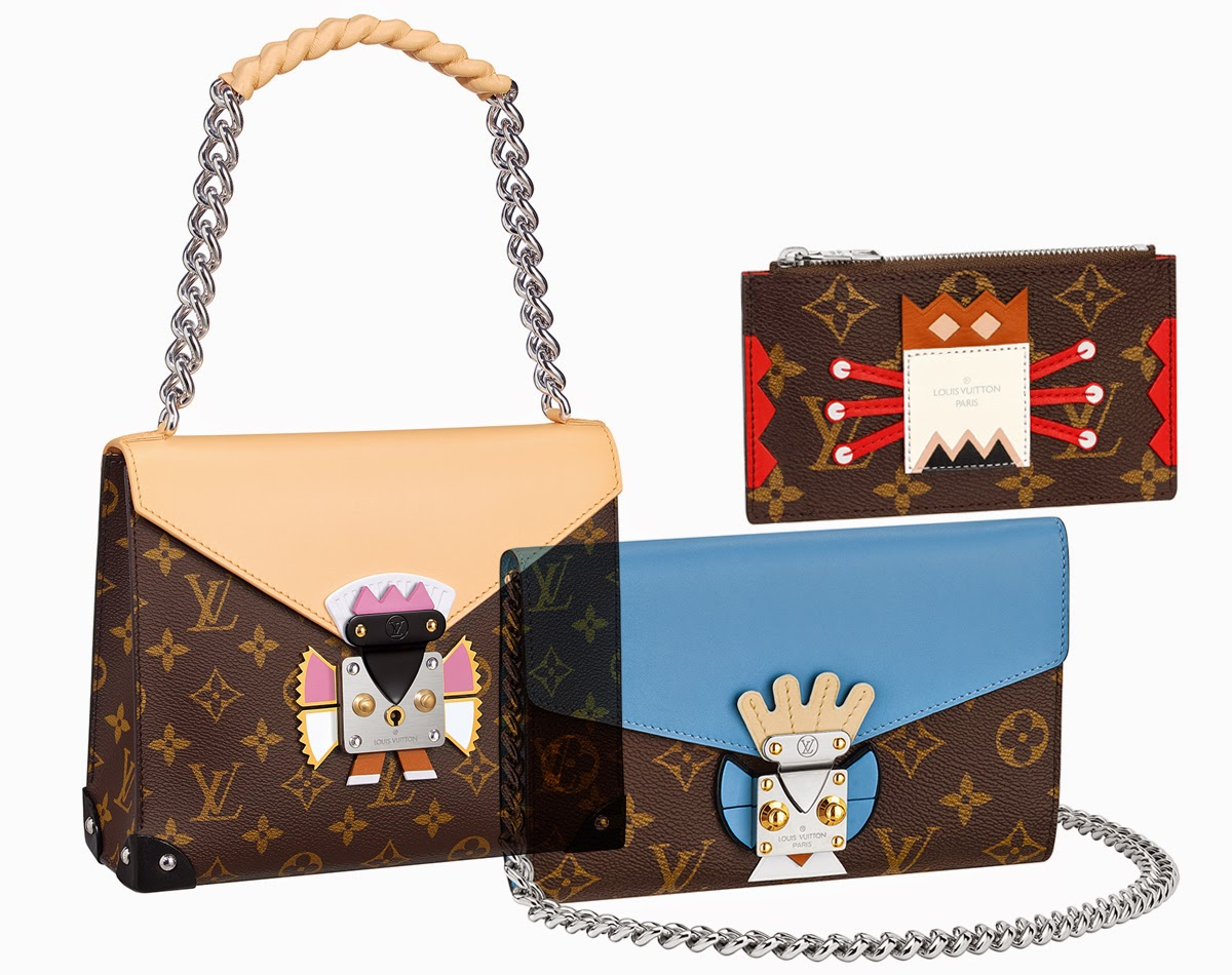 Louis Vuitton Tribal Mask Bags For Cruise 2015