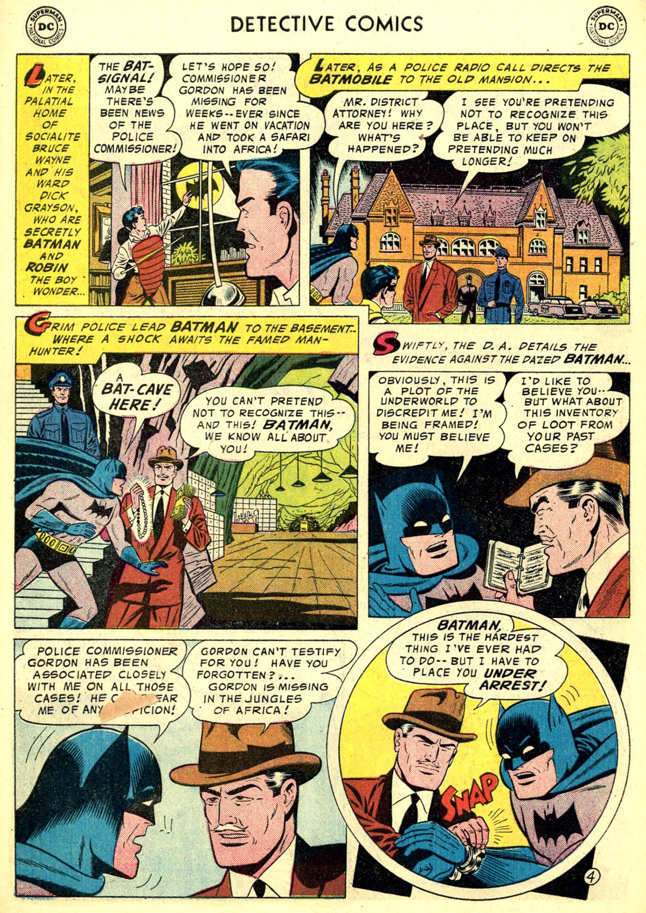 Read online Detective Comics (1937) comic -  Issue #240 - 6