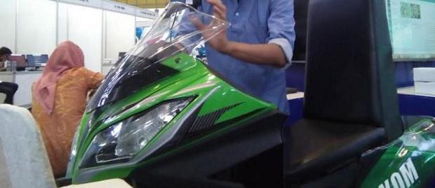 Teknologi Inovasi ! Motor Buatan Mahasiswa Indonesia Ini Bisa Bergerak Mengikuti Bola Mata!