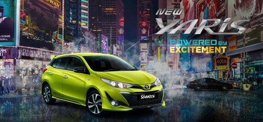 Harga Mobil Toyota New Yaris Tipe E G TRD Sportivo Baru 2018 | Jakarta, Tangerang, Bekasi, Depok, Bogor, Cikarang, Serang