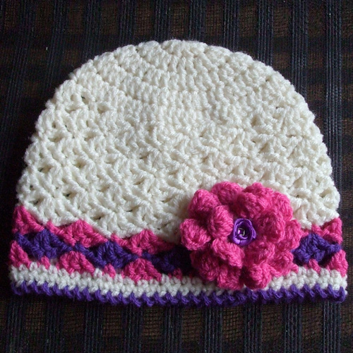 Spring Lacy Hat - Free Pattern