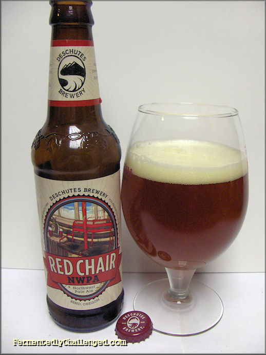 red chair nwpa abv commercial pool lounge chairs fermentedly challenged deschutes northwest pale ale review
