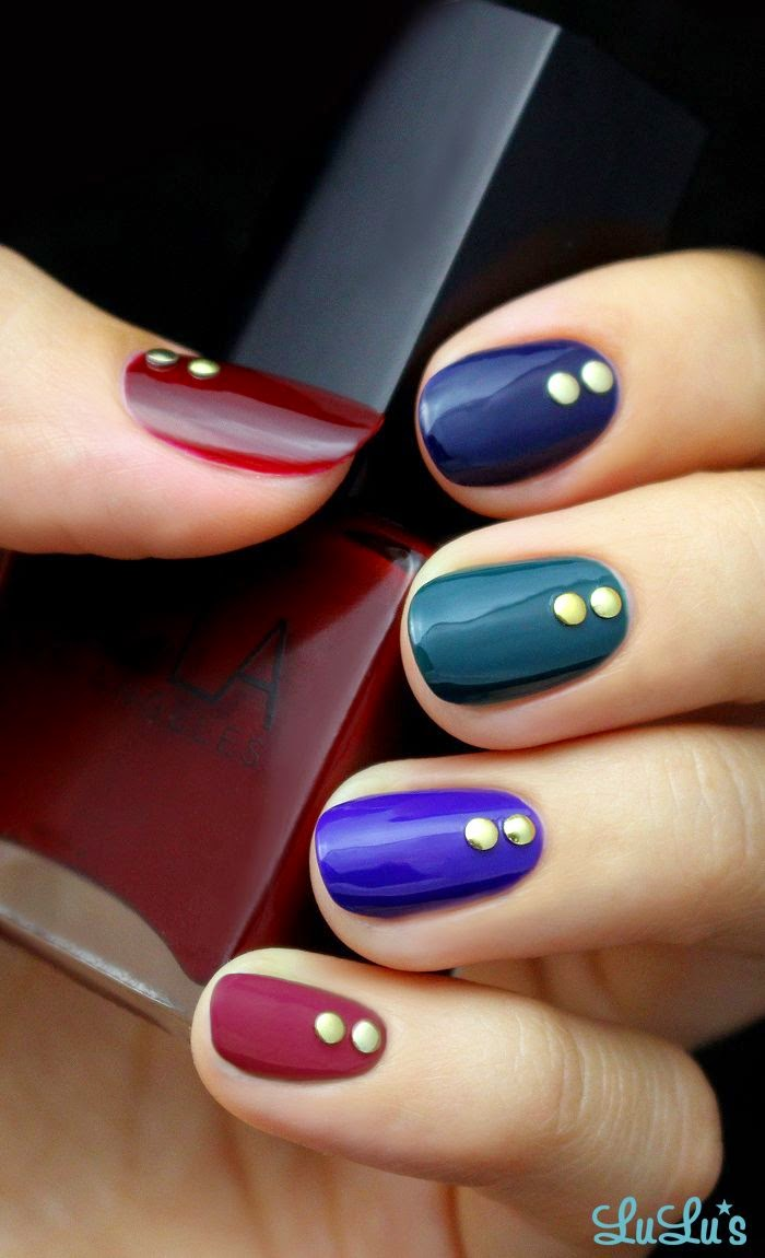 Jewel Tone Nail Tutorial
