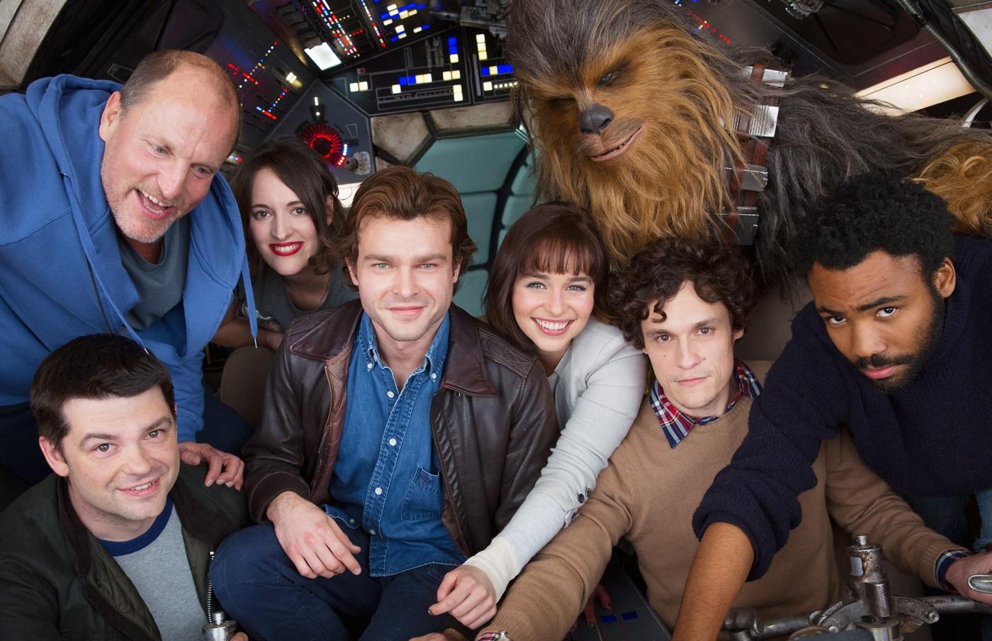 Foto mostra o elenco do spin-off de Han Solo — Star Wars
