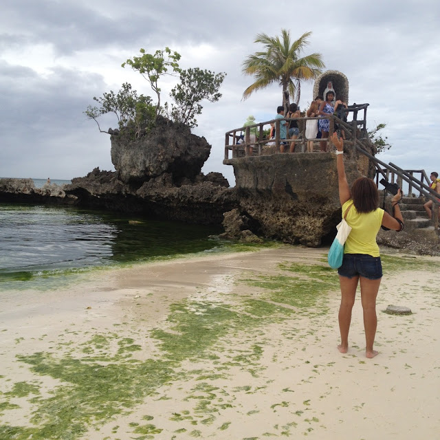 Willy's Rock at Boracay Island Malay Aklan Western Visayas Philippines