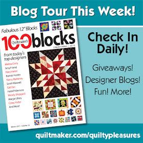Quiltmaker's 100 Blocks Blog Hop