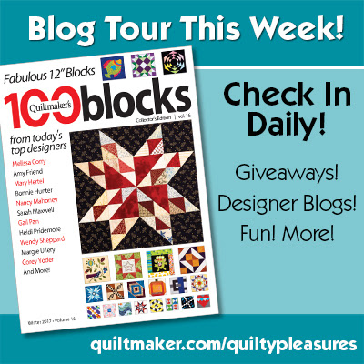 Quiltmaker's 100 Blocks Blog Hop