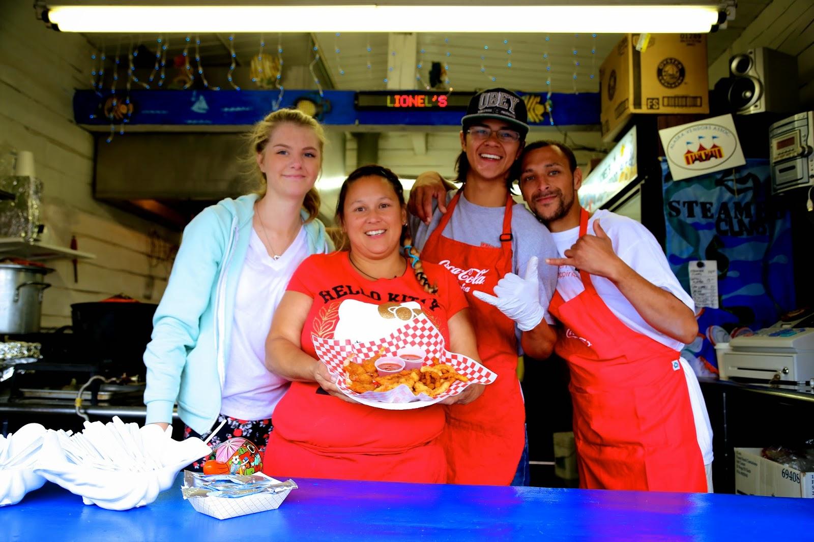 Popcorn shrimp stall, Alaska State Fair