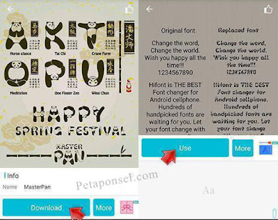Cara Ubah Font Android Kitkat Tanpa Root