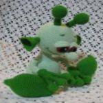 patron gratis extraterrestre amigurumi |  free amigurumi pattern alien