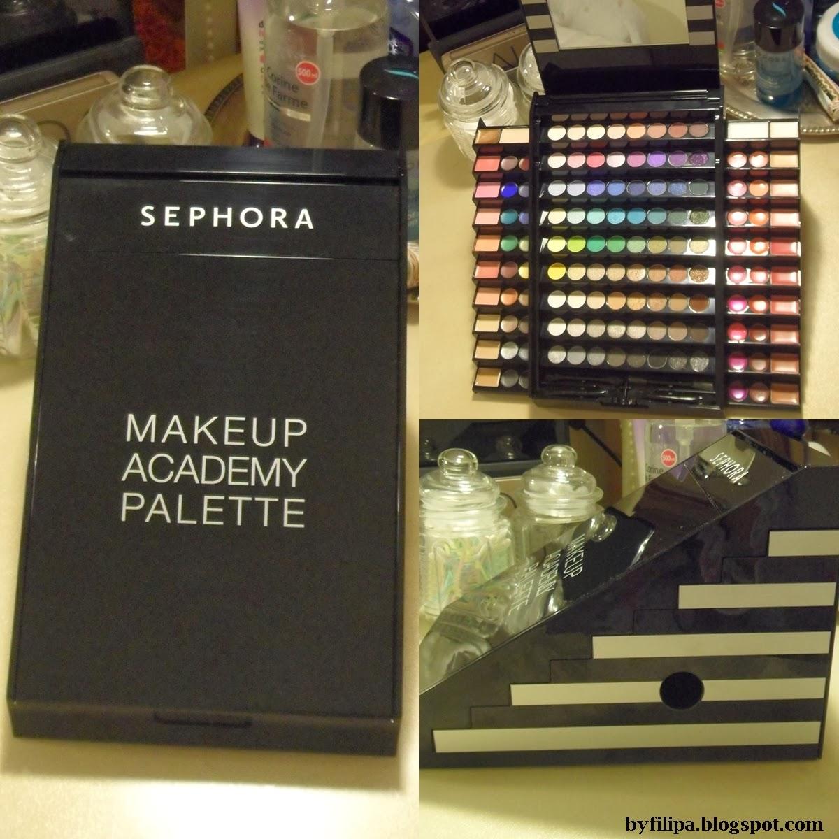 Byfilipa Sephora Makeup Academy Palette Review