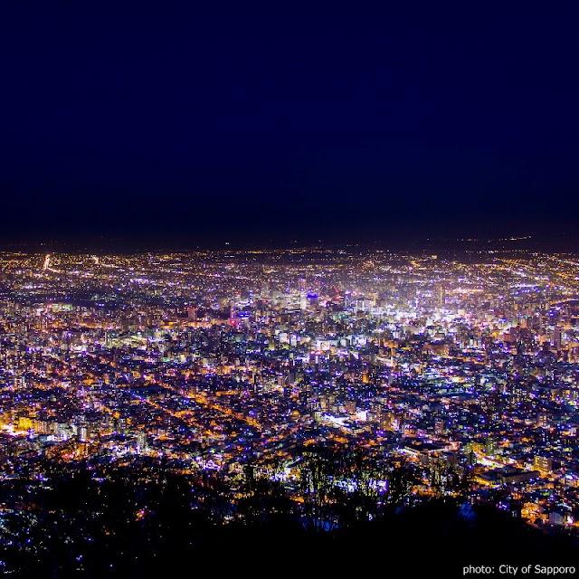 【藻岩山纜車】到海拔531公尺高山頂 俯瞰日本新三大夜景
