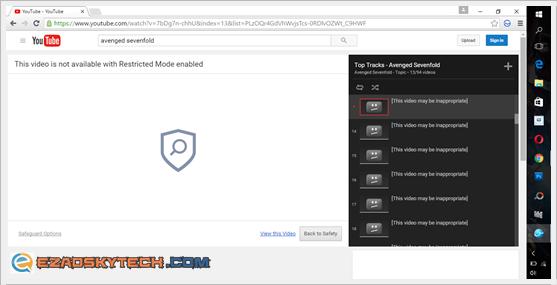Salam Browser Tapis Youtube