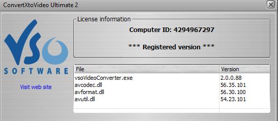 تفعيل برنامج Convert Xto Video 2.0.0.88