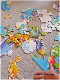 Puzzle 3d – zwierzęta świata