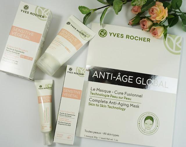 Yves Rocher - Neuheiten (Sensitive Végétal-Linie & Anti-Age Maske)