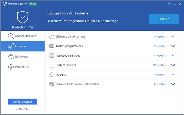 تفعيل برامج الحماية من الفيروسات والبرمجيات الضارة Malware Hunter للويندوز آخر إصدار