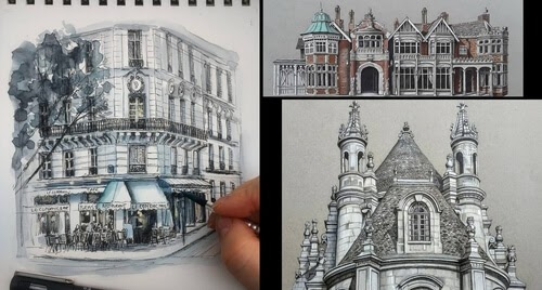 00-Demi-Lang-Architectural-Drawings-of-Interesting-Buildings-www-designstack-co