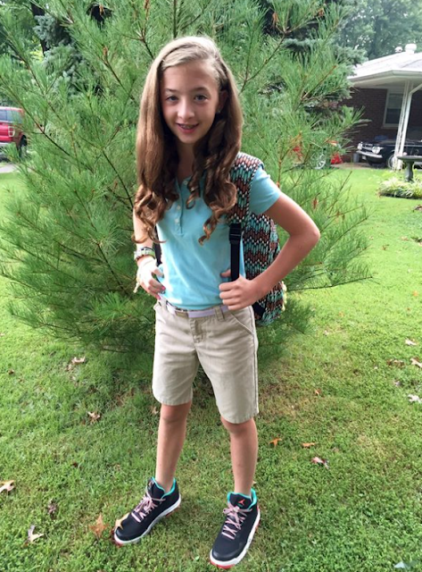1st Day in Middle School