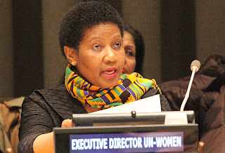 UN women director Phumzile Mlambo-Ngcuka in a womens day Message. PHOTO | AFP
