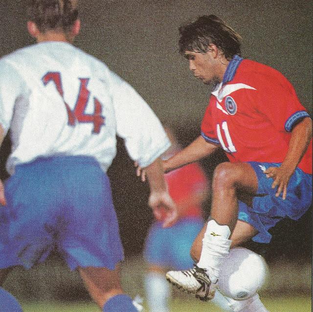 Chile y Eslovaquia en Copa Ciudad de Valparaíso, 15 de febrero de 2000