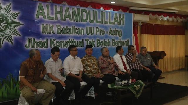 Atas Jihad Konstitusi Muhammadiyah, MK Batalkan UU Sumber Daya Air